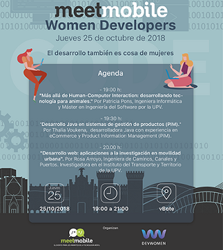 Meetmobile Women Developers 25 octubre 2018