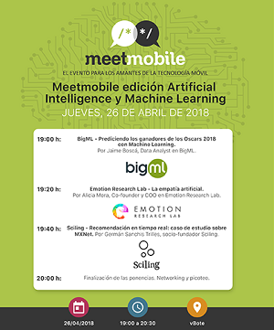 Meetmobile AI y ML - Inteligencia Artificial y Machine Learning